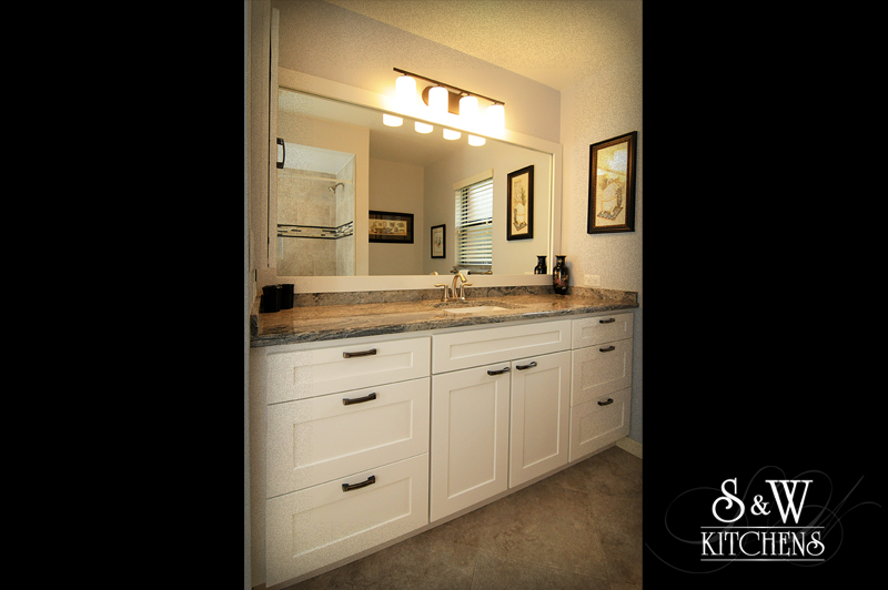 S Amp W Kitchens Sardega Grey Bathroom